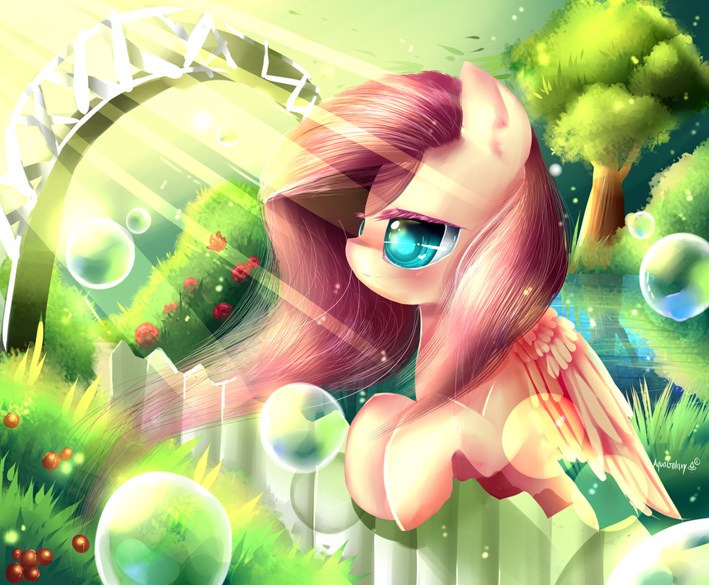 FlutterShy by AquaGalaxy