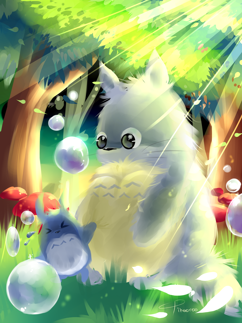 Totoro by AquaGalaxy