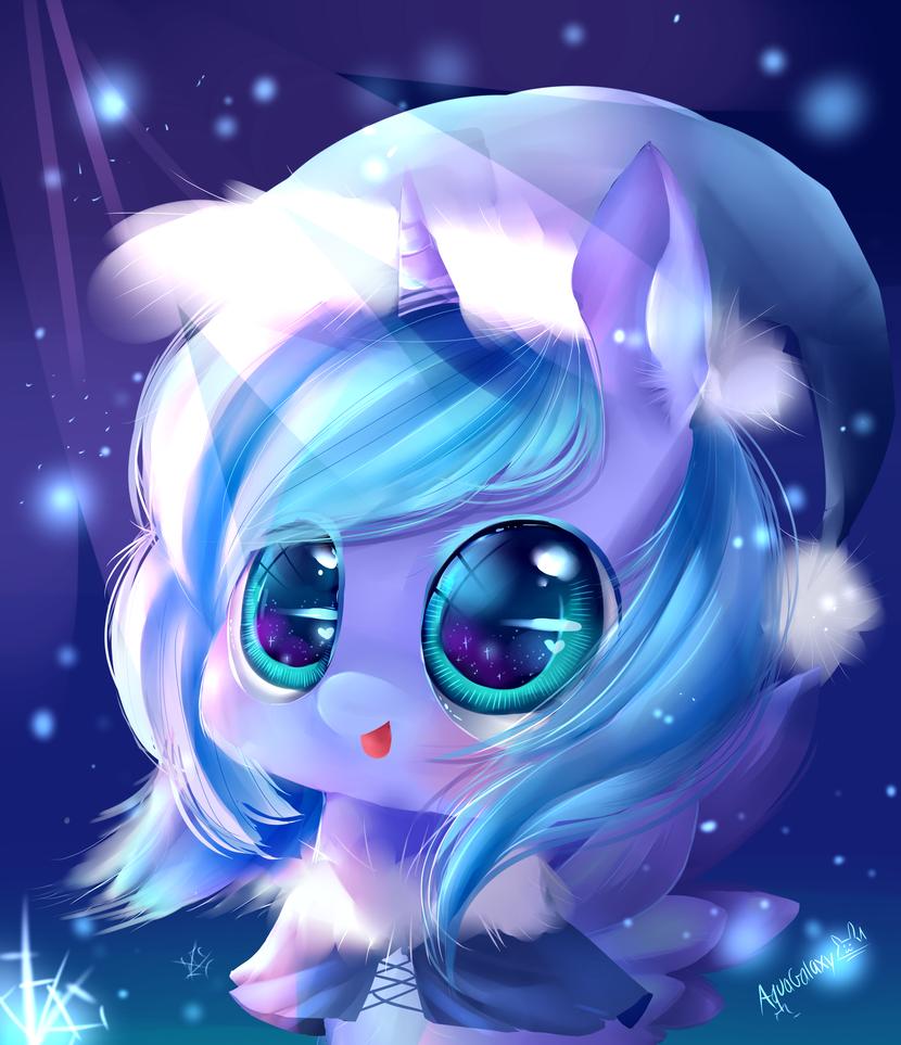 Luna - first snow by AquaGalaxy