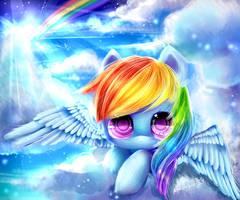 little rainbow MLP by AquaGalaxy