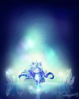 Crystal Fountain by AquaGalaxy