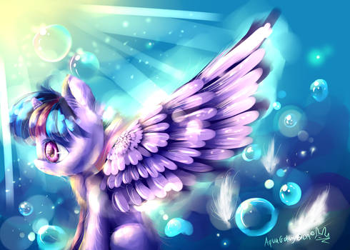 Twilight (MLP) by AquaGalaxy