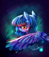 Ruin of the heart- MLP Luna by AquaGalaxy