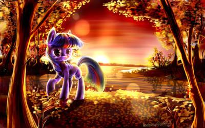 MLP Dawn- Twilight sparkle by AquaGalaxy