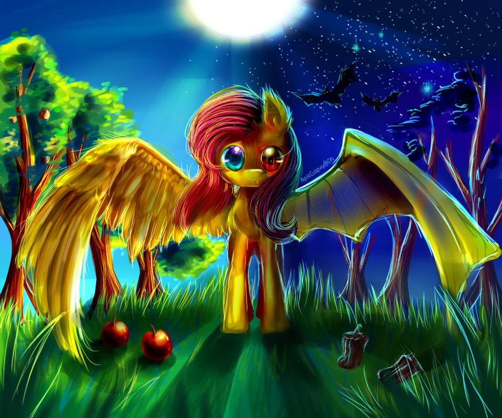 [MLP] Flutterbat by AquaGalaxy