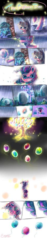 MLP comic The Balloon tree