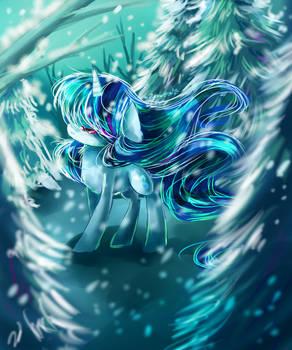 MLP White dance by AquaGalaxy