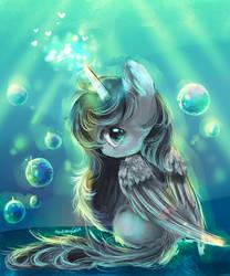 pony by AquaGalaxy