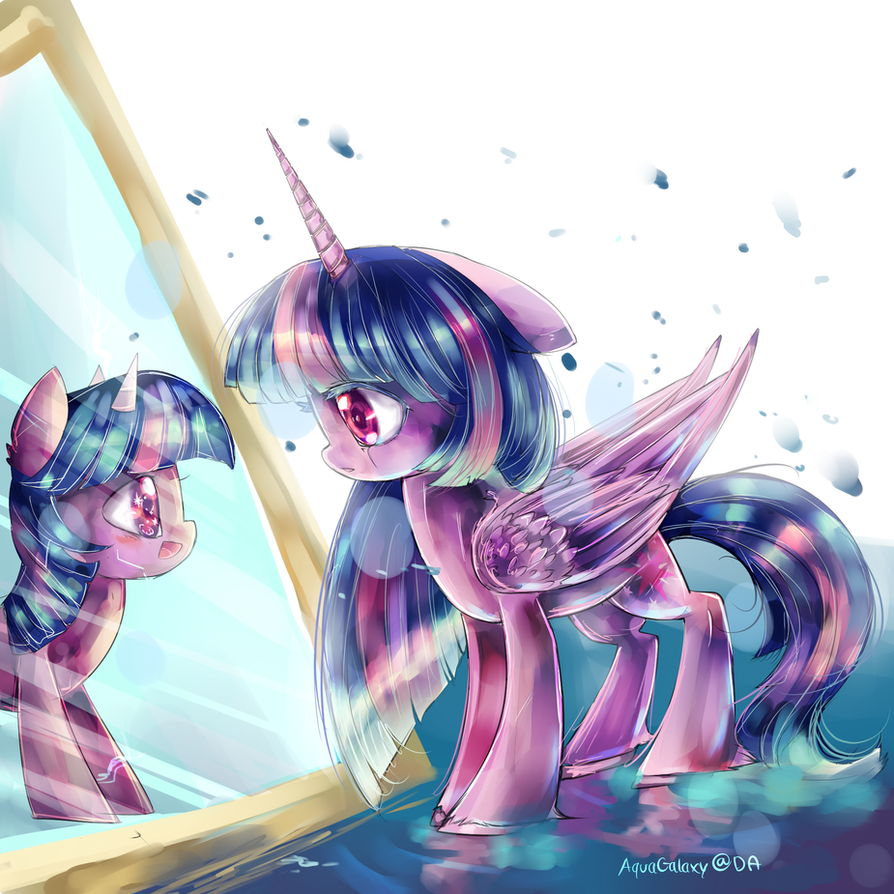 Through The Cracked Mirror party 5 MLP by AquaGalaxy ...