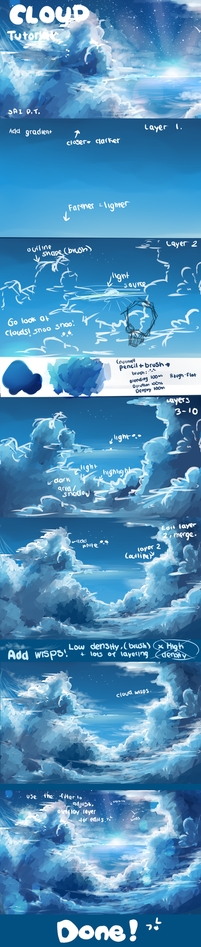 Cloud tutorial by AquaGalaxy