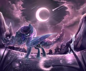 Princess Luna by AquaGalaxy
