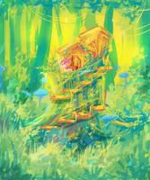 MLP Tree house by AquaGalaxy