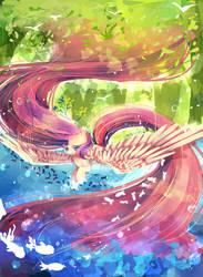 MLP Fluttershy by AquaGalaxy