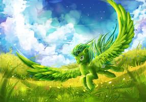MLP: Fly by AquaGalaxy