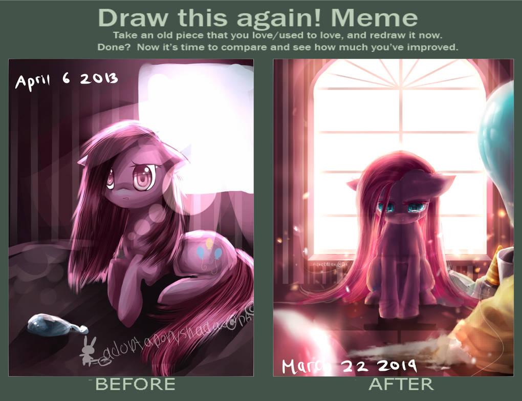 Draw This Again Meme by AquaGalaxy