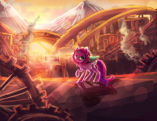 Gear city MLP C by AquaGalaxy