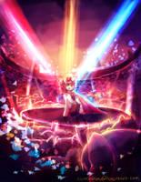 MLP C: Stadium lights by AquaGalaxy