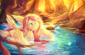 mlp Fluttershy by AquaGalaxy