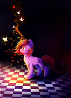MLP: Dawnfire by AquaGalaxy