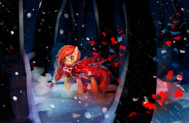 MLP C: red in the woods by AquaGalaxy