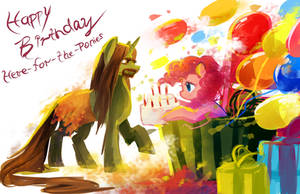 MLP G: HBD Here-For-The-Ponies! by AquaGalaxy