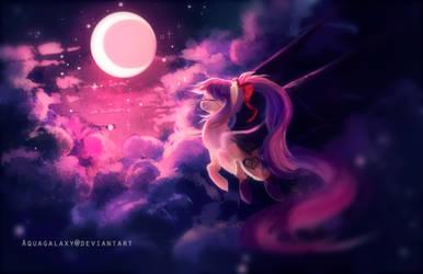 G: Night glide by AquaGalaxy