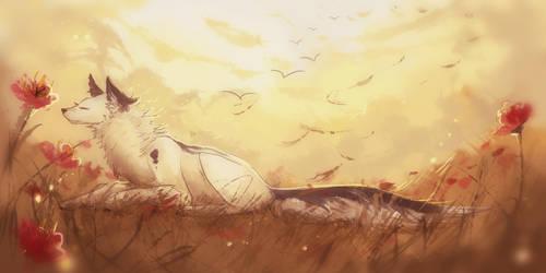 Gentle meadow by AquaGalaxy