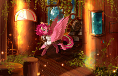 MLP G: Abandoned wonders by AquaGalaxy