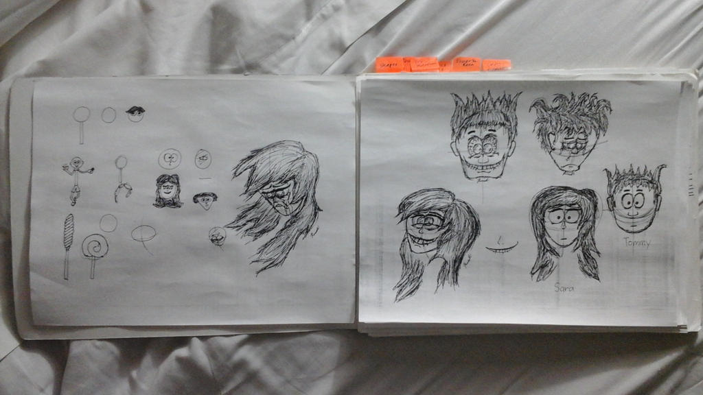 WIP: Cartoon Faces by RndmGuy94