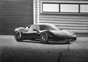 Ferrari 458 Italia by Lmomjian