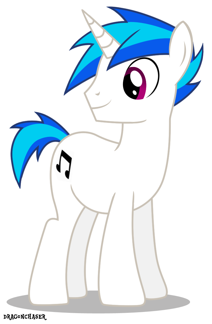 Vinyl Scratch Rule 63 by DragonChaser123