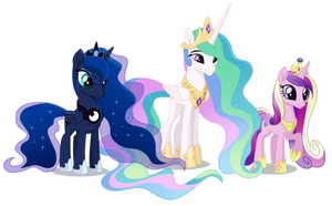 Three Princesses by DragonChaser123