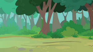 Background: Forest by DragonChaser123