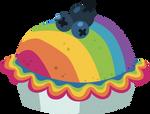 Resource: Blueberry Rainbow Cake