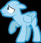 Scared Stallion Base by DragonChaser123