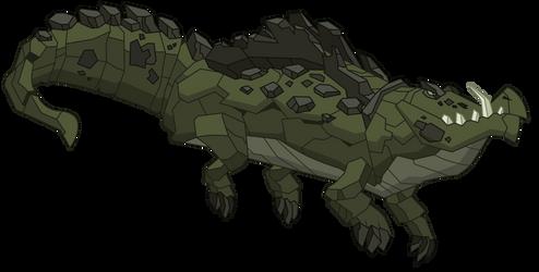Cragadile by DragonChaser123
