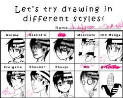 Style Meme by dividedbyxero