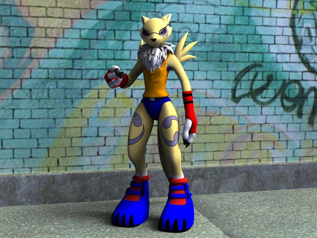 Renamon Casual Wear by Lord-Crios