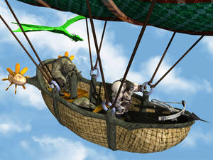 Flying orcs