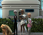 Invasion 16 Bis: The invader family by Lord-Crios