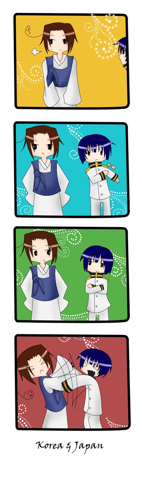 korea and japan relationship