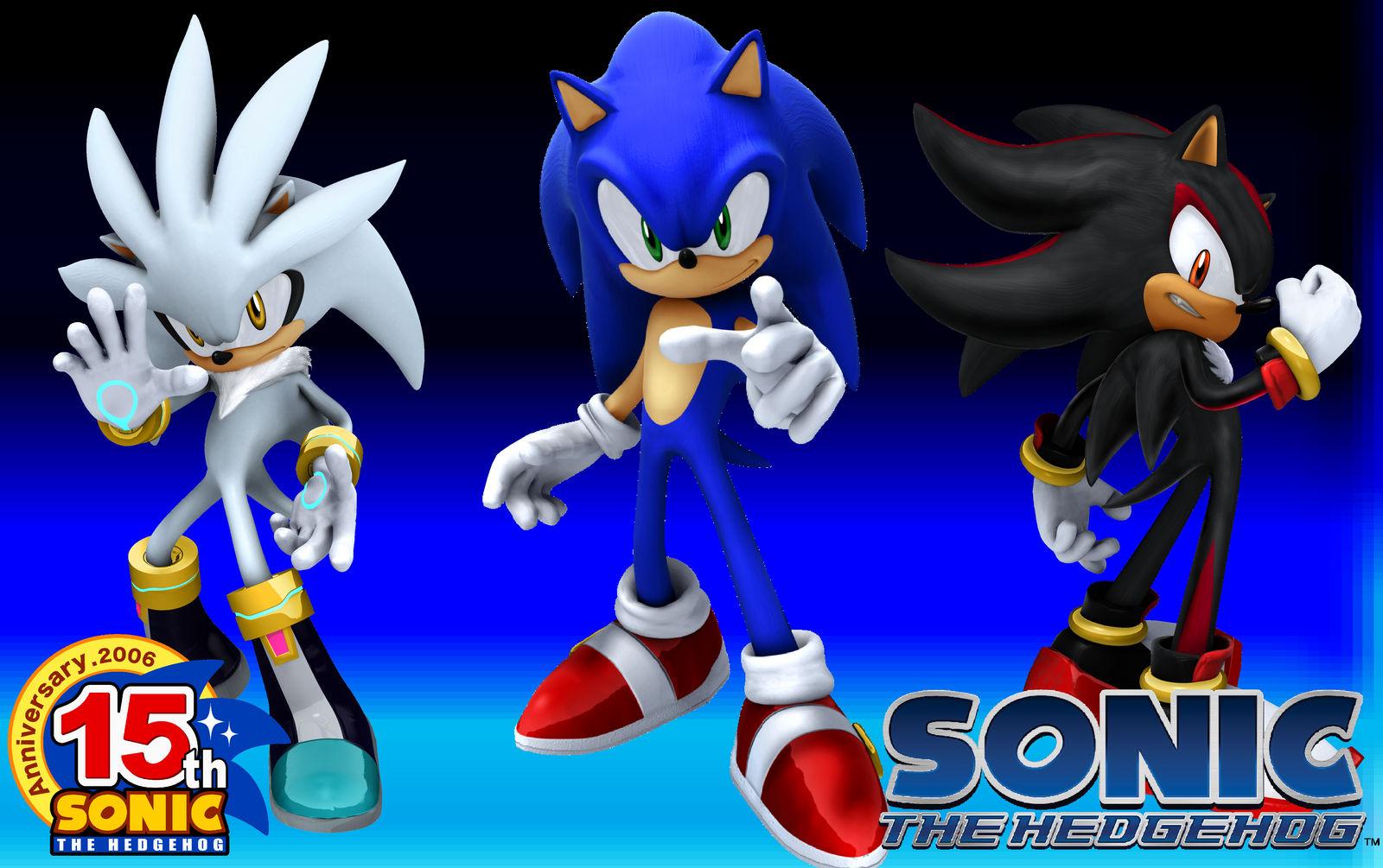 Sonic 2006 Wallpaper By Sonicxfan2012 On Deviantart