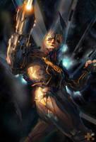 Galaxy Gun Guy by TED-MX