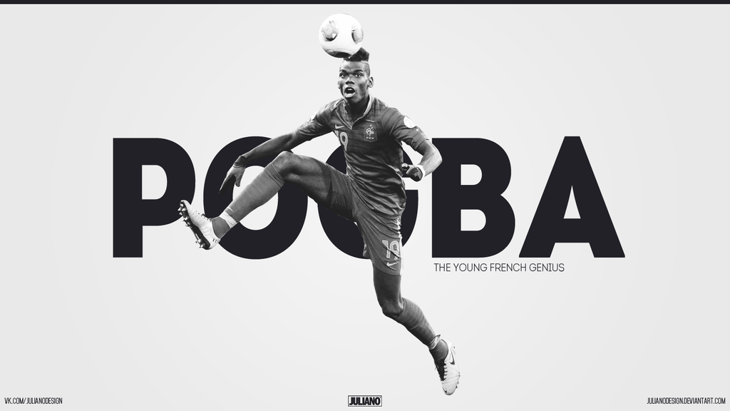 Paul Pogba The Young French Genius By Julianodesign On
