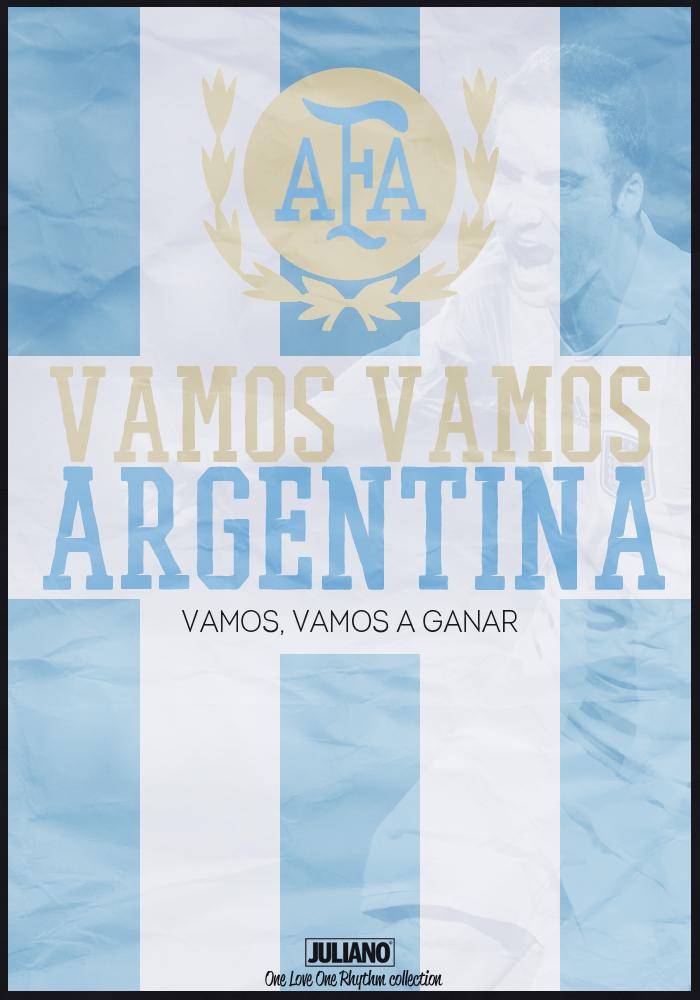 Vamos Vamos Argentina By Julianodesign