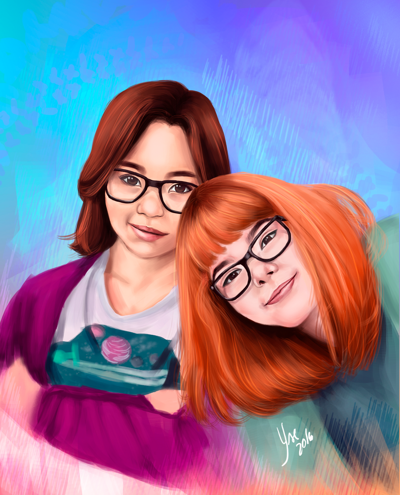 Nath and me by Adayse