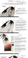 Hair Painting Tutorial part 2