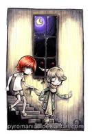Down the Stairs by Parororo