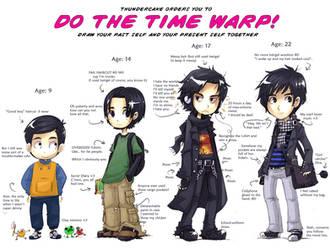 Time warp meme by Parororo