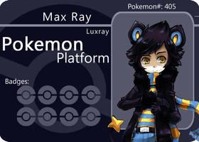 PokePlatform Card Luxray by Parororo